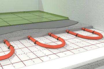 montaż ogrzewania podłogowego elektrycznego