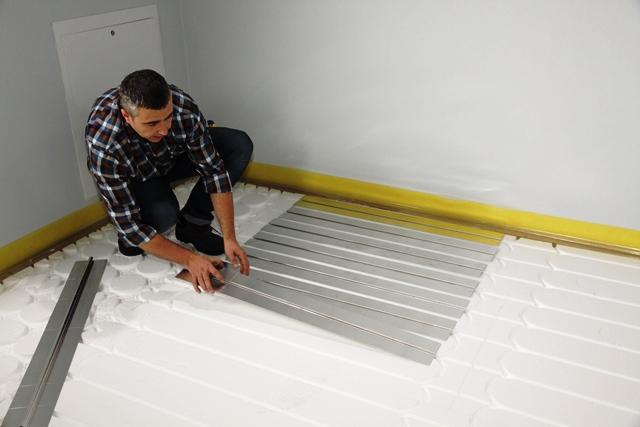 instalacja ogrzewania podłogowego radom